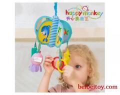 happy monkey婴儿玩具海洋、森林系列旋转床铃