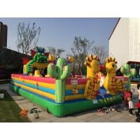 海贝牌户外大型组合式充气蹦蹦床 儿童乐园充气城堡