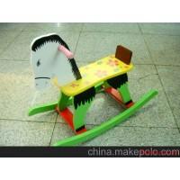木制玩具儿童摇马木马木制摇马跷跷马儿童木马玩具