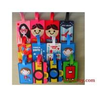pvc行李牌 广告礼品软胶行李牌 卡通软胶行李牌