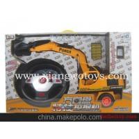 猎豹王8041方向盘遥控特技挖土机工程车遥控挖掘机玩具儿童礼品
