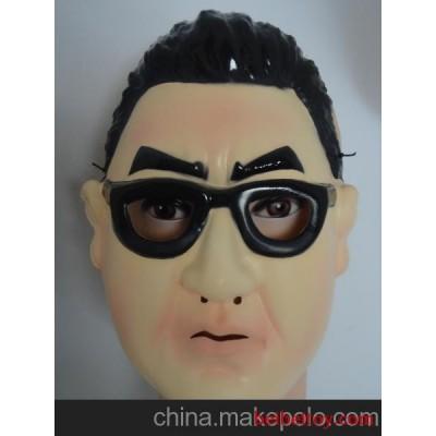 T-P034江南style鸟叔面具  骑马舞表演面具