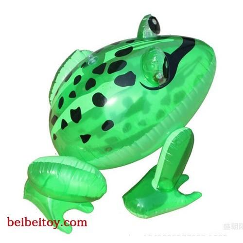 充气青蛙 PVC充气玩具发光青蛙 儿童玩具