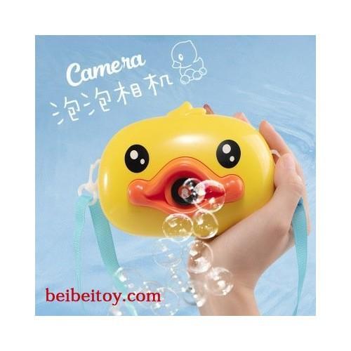 馨彩网红鸭子泡泡相机玩具吹泡泡玩具