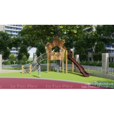 上海乐拓非标定制大型户外儿童游乐设备幼儿园整体设计组合设备