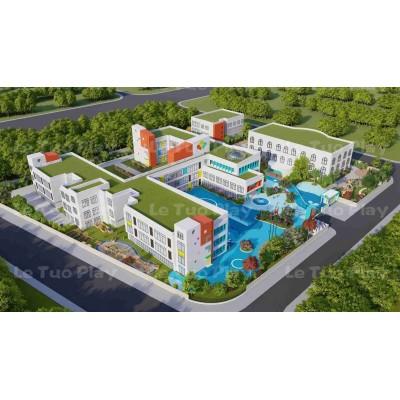 上海乐拓非标定制大型户外儿童游乐设备幼儿园整体设计