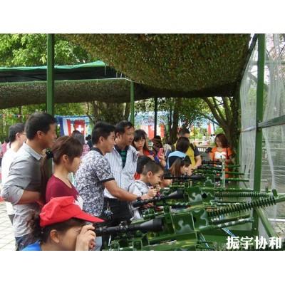四川景区刺激射击气炮枪游乐项目射击打靶气炮枪儿童气炮靶